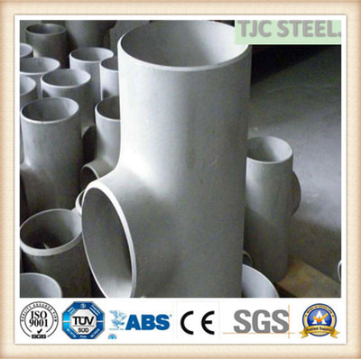 S31803 DUPLEX STAINLESS TEE